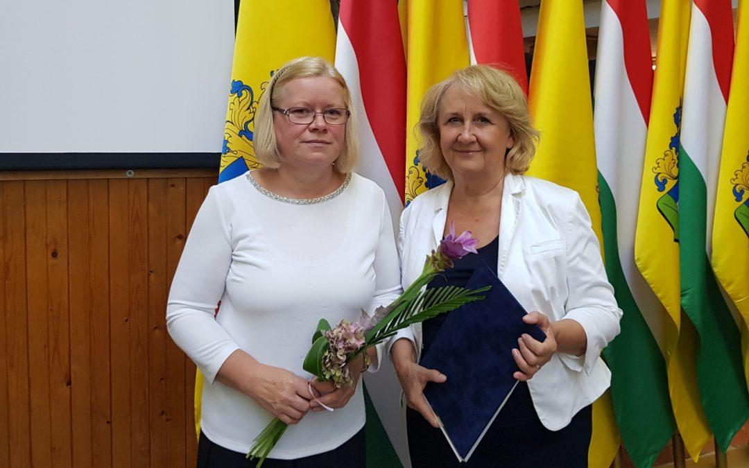 Polgármesteri elismerések intézményünk dolgozóinak