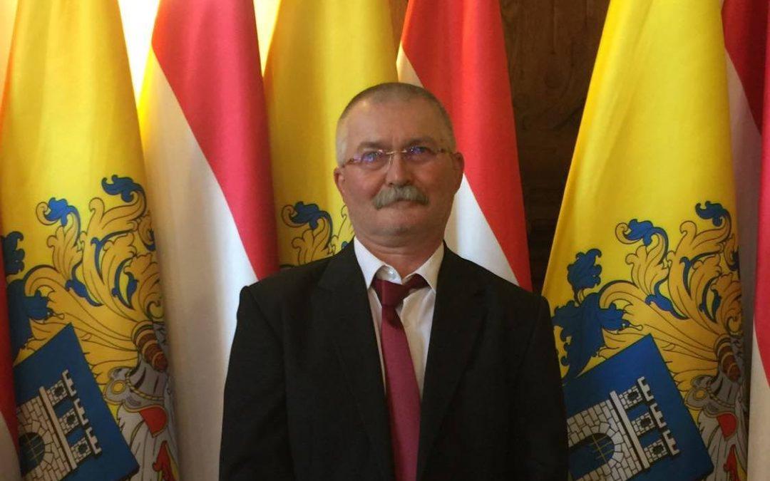 Nógrádi Jenő, iskolánk tanára polgármesteri dicséretben részesült