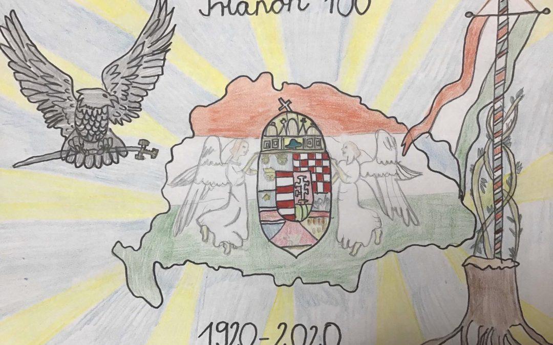 """""""Hazám, gyönyörűMagyarország!"""" rajzpályázat díjazottjai"""
